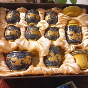 Vintage Chinese Porcelain Tea Set